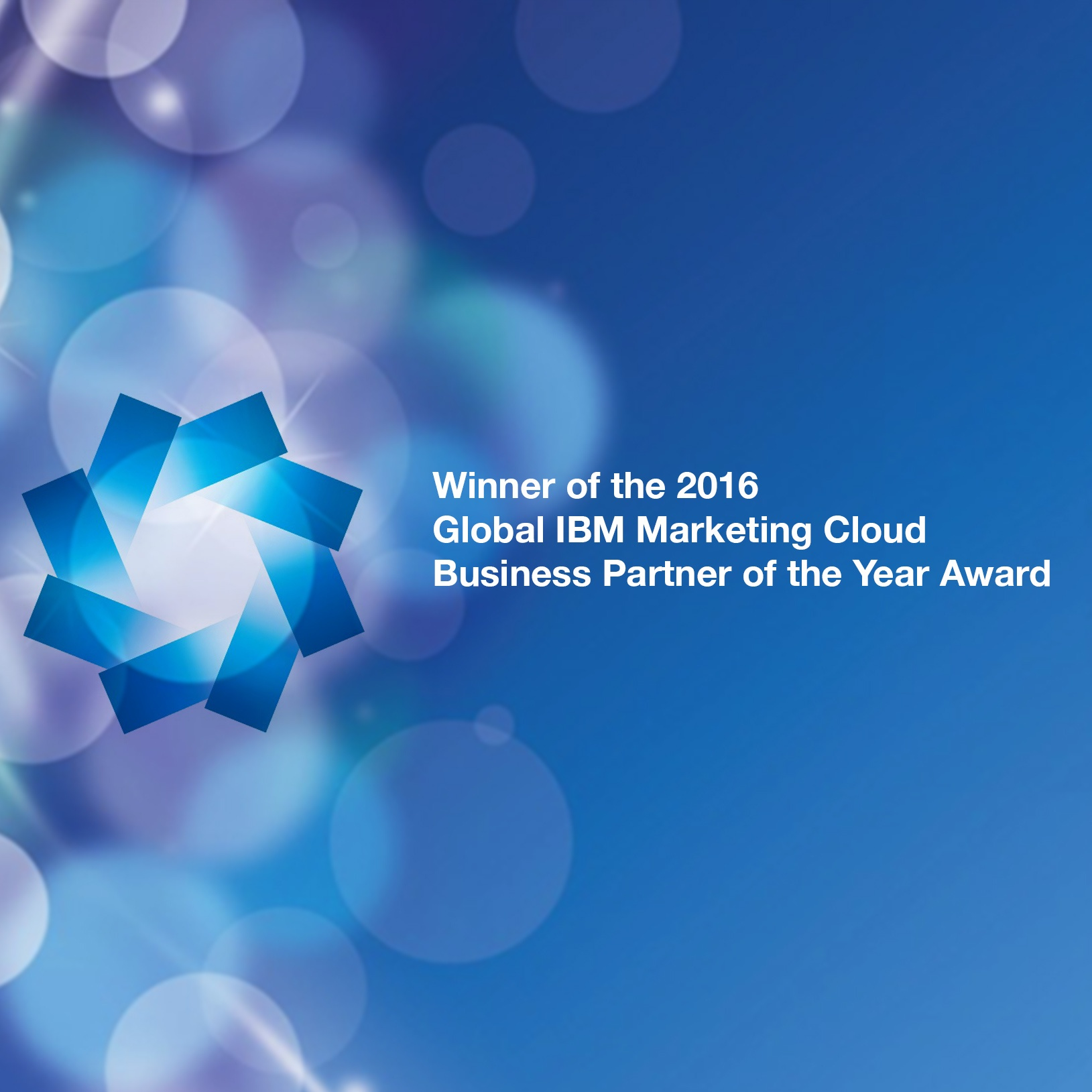 Engage Digital wins the 2016 Global IBM Marketing Cloud Business Partner of the Year Award
