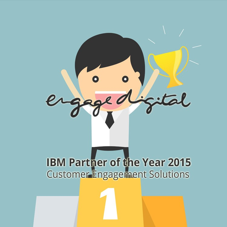 engage digital win IBM Partner of the Year 2015
