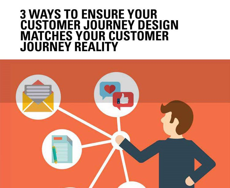 3 Ways to Ensure your Customer Journey Design Matches your Customer Journey Reality