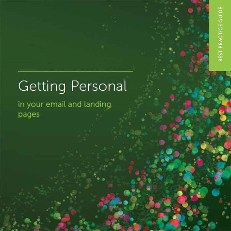 Getting personal in your email marketing and landing pages
